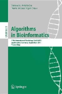 Algorithms in Bioinformatics - WABI 2011