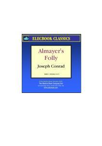 Almayer 's Folly