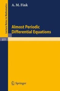 Almost Periodic Differential Equations
