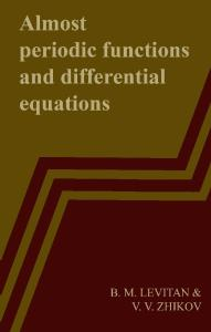 Almost Periodic Functions and Differential Equations