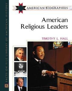 American Religious Leaders (American Biographies)