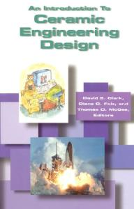 An Introduction to Ceramic Engineering Design (#G067)