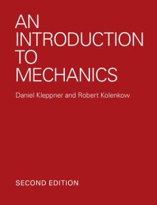 An Introduction to Mechanics, 2nd edition