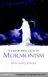 An Introduction to Mormonism (Introduction to Religion)