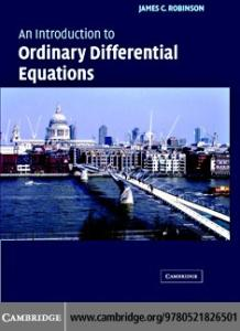 An introduction to ordinary differential equations