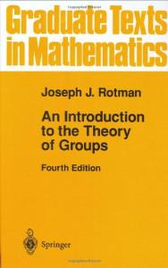 An Introduction to the Theory of Groups