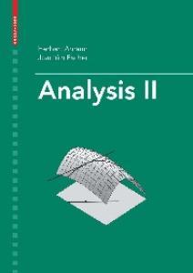 Analysis II