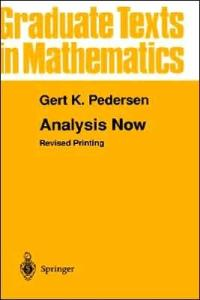 Analysis Now (Graduate Texts in Mathematics)