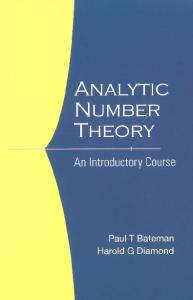 Analytic number theory: an introductory course