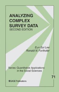 Analyzing Complex Survey Data