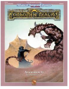 Anauroch (Advanced Dungeons and Dragons: Forgotten Realms Accessory FR13)