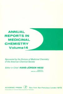 Annual Reports in Medicinal Chemistry, Volume 14
