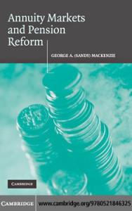 Annuity Markets and Pension Reform