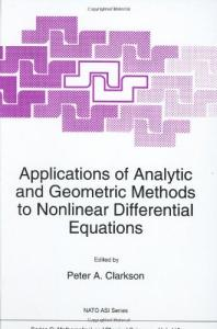 Applications of analytic and geometric methods to nonlinear differential equations Proc. Exeter