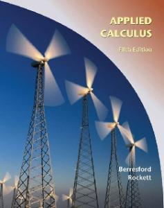 Applied Calculus, Fifth Edition