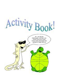 Aquarena Activity Book