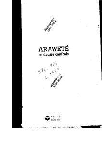 Arawete: Os deuses canibais (Colecao Antropologia social)