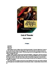 Archer, Alex - Rogue Angel 07 - God Of Thunder