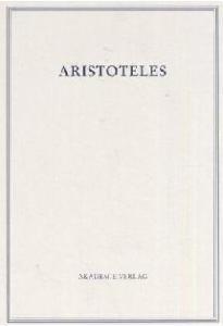 Aristoteles - Werke in deutscher Übersetzung: Aristoteles, Bd. 1 I: Kategorien, 4. Auflage