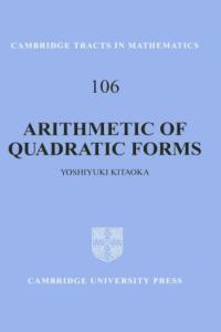 Arithmetic of quadratic forms