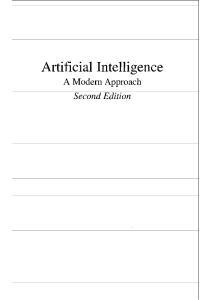Artificial Intelligence, A Modern Approach
