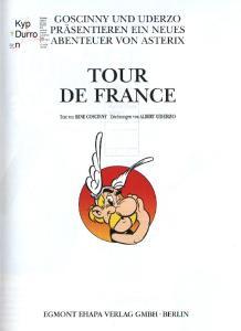 Asterix Bd.6: Tour de France  GERMAN