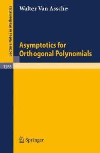 Asymptotics for orthogonal polynomials