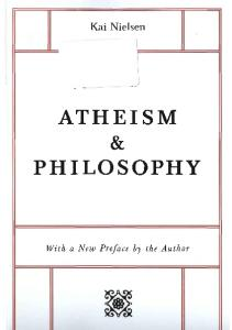 Atheism & Philosophy