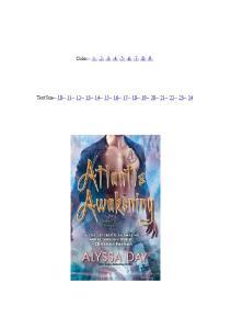Atlantis Awakening (Warriors of Poseidon, Book 2)