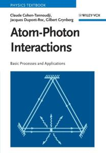 Atom-photon interactions