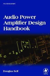 Audio Power Amplifier Design Handbook, Fourth Edition