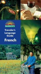 Barron's Traveler's Language Guide -- French
