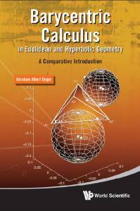 Barycentric calculus in Euclidean and hyperbolic geometry