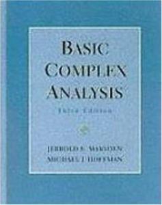 Basic complex analysis