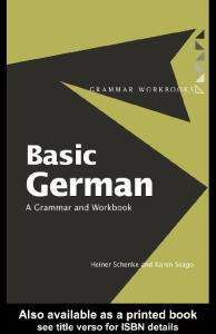 Basic German: grammar and workbook