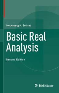 Basic Real Analysis, 2nd edition
