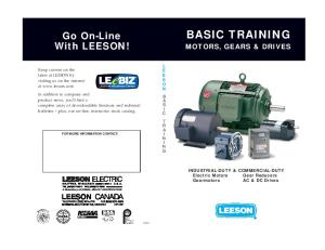 Basic Training for Electrical Motors
