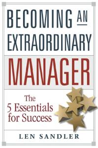 Becoming an Extraordinary Manager