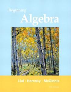 Beginning Algebra, 11th Edition