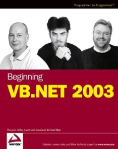 Beginning VB .NET 2003