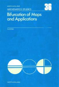 Bifurcation of maps and applications, Volume 36 (North-Holland Mathematics Studies)