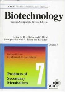 Biotechnology, Products of Secondary Metabolism