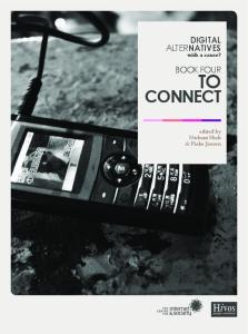 Book 4 To Connect - Digital Alternatives