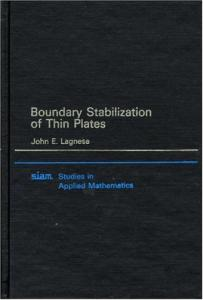 Boundary stabilization of thin plates