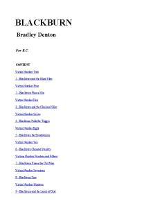 Bradley Denton - Blackburn
