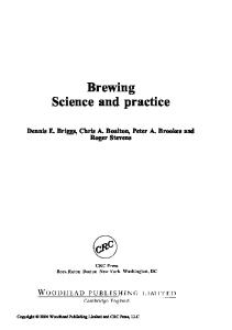 Brewing: Science and Practice