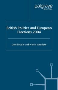 British Politics and European Election 2004