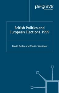 British Politics and European Elections, 1999