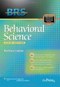 BRS Behavioral Science, 5th Edition