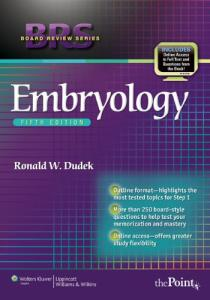 BRS Embryology, 5th Edition